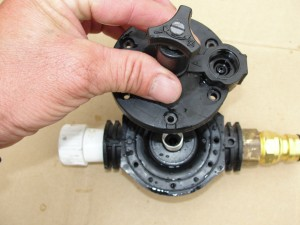 Solenoid valve cleaning